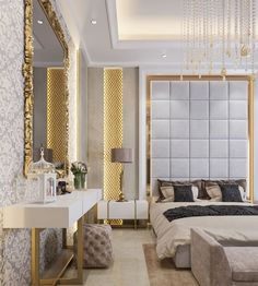 5 Master Bedroom Design Ideas With Simple Theme and Decoration Master Bedroom Design, Master Room, Modern Bedroom, Master Suite, Luxury Interior, Modern Interior Design, Interior Architecture, Simple Interior, Bedroom Themes