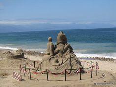Some sand art photos from Puerto Vallarta I've found online. More on the malecon: http://www.puertovallarta.net/what_to_do/index.php #vallarta #puertovallarta #mexico #sandart