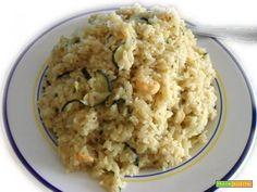 Risotto gamberi e zucchine  #ricette #food #recipes