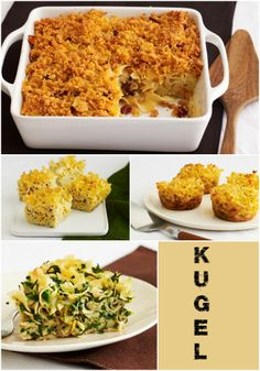 Loving the noodle kugel