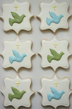 24 Cookies/Baptism Sugar Cookies by iBakery on Etsy, $84.00