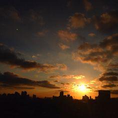#Sunset Cantareira #essepe