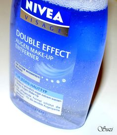 Nivea Visage Double Effect Make-up Remover - BEST waterproof eye makeup remover in the world!