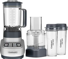Cuisinart - Velocity Ultra Trio 56-Oz. Countertop Blender and Food Processor - Silver