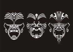 Tribal Masks by malcolmc.deviantart.com on @deviantART