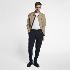 Nike Lab Collection Fleece Men's Pants - M Ideal Fit, Welt Pocket, French Terry, Legs, Nike, Fleece, My Style, Men's Pants, Extra Storage