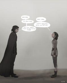 Rey & Kylo Ren / Ben Solo Reylo Fanfiction