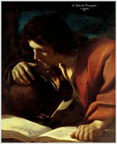 St. John the Evangelist, Guercino