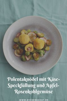 Polenta, Dumpling Recipe, Teller, Fruit, Recipes, Food, Pie, Fruit Recipes, Apple Recipes