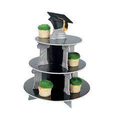 Graduation Cupcake Holder - OrientalTrading.com