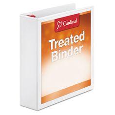 Cardinal 32120 Treated ClearVue Locking Slant-D Ring Binder #32120 #Cardinal #TAABinders  https://www.officecrave.com/cardinal-32120.html