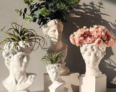 Room Ideas Bedroom, Bedroom Decor, Greek Goddess Statue, Vase Crafts, Resin Crafts, Aesthetic Room Decor, Plant Aesthetic, Beige Aesthetic, Aesthetic Design