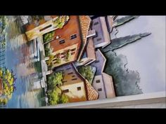 Panda, Decoupage, World, Painting, France, Youtube, French Art, Bees, Painting Art