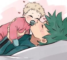 """""""here's mommy deku to clean your tl from all the negativity ! My Hero Academia Shouto, My Hero Academia Episodes, Hero Academia Characters, Anime Characters, Anime Dad, Anime Love, Anime Guys, Donut The Dog, Familie Symbol"""