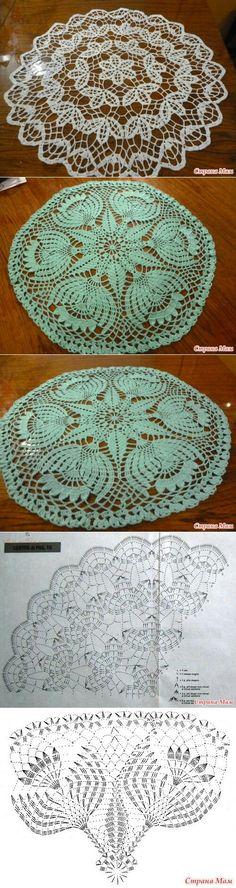 Round lace patterns..<3 Deniz <3