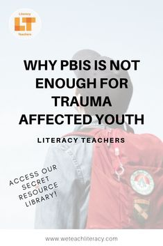 Positive Behavior Interventions and Supports are great for helping most students make behavioral improvements for academic success. Students who experienced trauma, however, are a different story. They need a uniquely therapeutic type of support and PBIS just doesn't cut it. Click through to learn more about the differences between a trauma-informed approach and PBIS. Also access our password protected resource library! #traumainformed #trauma #PBIS #studentbehavior #behaviormanagement Teaching Tools, Teacher Resources, Teaching Ideas, Behavior Management, Classroom Management, Vocabulary Notebook, Professional Development For Teachers, Behavior Interventions, Student Behavior