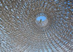 First look at Wolfgang Buttress' beehive-inspired UK Pavilion ...