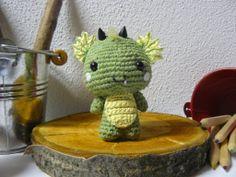 Piccoli draghi amigurumi, by Bicolino, 15,00 € su misshobby.com