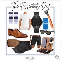 Need a Father's Day gift? Look no further than the Essentials Dad Gift Guide! Products not tagged are from Rhone! #competition Follow me in the @LIKEtoKNOW.it shopping app to shop this post and get my exclusive app-only content! #liketkit #LTKunder100 #LTKmens #LTKSeasonal @liketoknow.it Amazon Essentials, Mens Essentials, Gifts For Dad, Fathers Day Gifts, 6 Packs, Gift Guide, Competition, Dads, Content