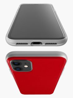 """""""Shadow Box - Red"""" iPhone Case & Cover by FernandoVieira Plain Red Background, Shadow Box, Color Trends, Iphone Case Covers, Creations, Blue And White, Navy Blue, Deep, Products"""