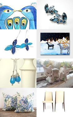 Pairs come in many forms...... Great Etsy shops who all have pairs of something.......by Melissa and Raymond--Pinned with TreasuryPin.com