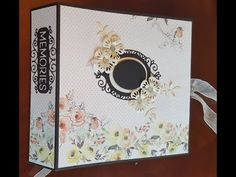 (191) Making a Large Mini Album using the Precious Memories Hinge Die - YouTube Diy Mini Album, Mini Album Tutorial, Mini Albums, Memory Album, Memory Books, Girl Scout Leader, Girl Scouts, Chicken Scratch Embroidery, Girl Scout Crafts