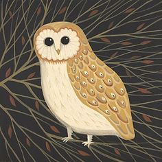 Big Barn Owl  by Catriona Hall