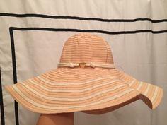 Calvin Klein CALVIN KLEIN Straw Floppy Hat