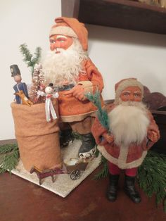 Old Time Christmas, Prim Christmas, Antique Christmas, Christmas Past, Father Christmas, Retro Christmas, Christmas Items, All Things Christmas, Primitive Country Christmas