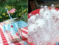 Picnic Baby Shower with a vintage country theme
