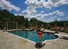 50 acre bucks county estate with saltwater pool and mini waterfall bucks county pa estate traditional home office