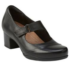 0ce1695d7d0 Clarks Artisan Leather Mary Jane Pumps - Rosalyn Wren - A341219