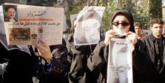 Gli scrittori iraniani contro la censura.  Un gruppo di intellettuali iraniani scrive una lettera al governo, chiedendo la fine della censura sulle loro opere.