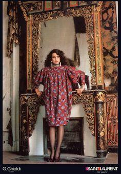 1986 - YSL Rive Gauche adv feat Andie Mac Dowell