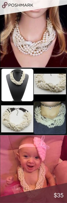 Big Pearl Necklace See pic Jewelry Necklaces