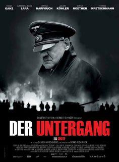 """""""Downfall (Der Untergang)"""" (2006) / Director: Oliver Hirschbiegel / Writers: Bernd Eichinger (screenplay), Joachim Fest (book) / Stars: Bruno Ganz, Alexandra Maria Lara, Ulrich Matthes #poster"""