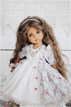 Lilac Dress, Yellow Dress, White Dress, Flower Girl Dresses, Beautiful Dresses, Gorgeous Dress, Little Darlings, Little Princess, Doll Clothes