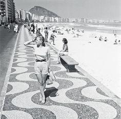 Praia de Copacabana, 1947