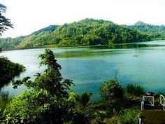 Sermo Dam, Kulon Progo, Yogyakarta, Indonesia.
