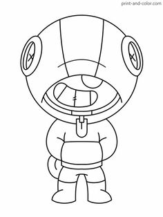43 Best Brawl Stars images   Stars, Star coloring pages ...