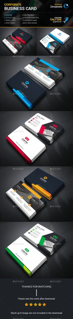 Buy Business Card Bundle by zeropixels on GraphicRiver. FEATURES: Easy Customizable and Editable Business card in with bleed CMYK Color Design in 300 DPI Resolut. Buy Business Cards, Business Card Maker, Unique Business Cards, Business Card Design, Creative Business, Print Templates, Card Templates, Bussiness Card, Logo Design
