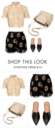 """""""Spring retro"""" by monika1555 ❤ liked on Polyvore featuring self-portrait"""