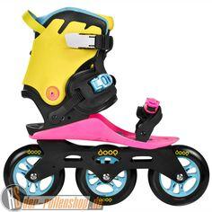 Powerslide Doop Skates Swift 3 Schwarz/Pink/Gelb/Blau