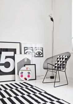 The Design Chaser: Black & White Prints | Friday Favourites