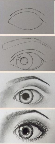 My first attempt at a drawing tutorial! Hope this is okay X draw eyes