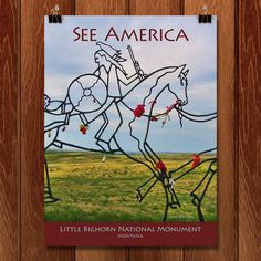 Little Bighorn Battlefield National Monument by Jane Rohling
