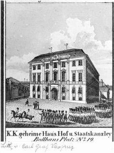 Ballhausplatz, Wien 1830