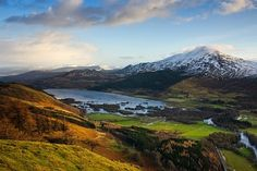 """Schiehallion Mountain - Scottish Landscapes. For """"The Puzzle Ring"""" by Kate Forsyth"""