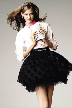 Karlie Kloss' best beauty looks: February 2008