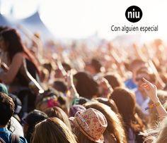 El verano es sinónimo de conciertos y festivales de #música al aire libre. ¡Mejor compartirlos con #alguienespecial!